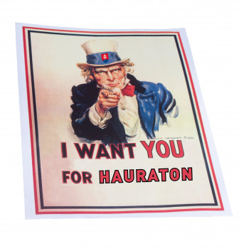 I wont you for HAURATON!